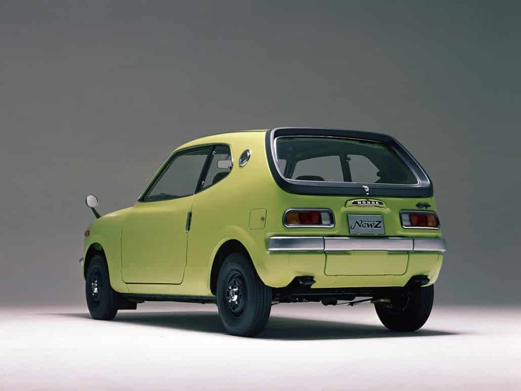 Honda Z 1970-1972 vue AR - photo Honda