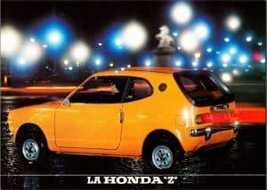 Honda Z brochure 1971 France