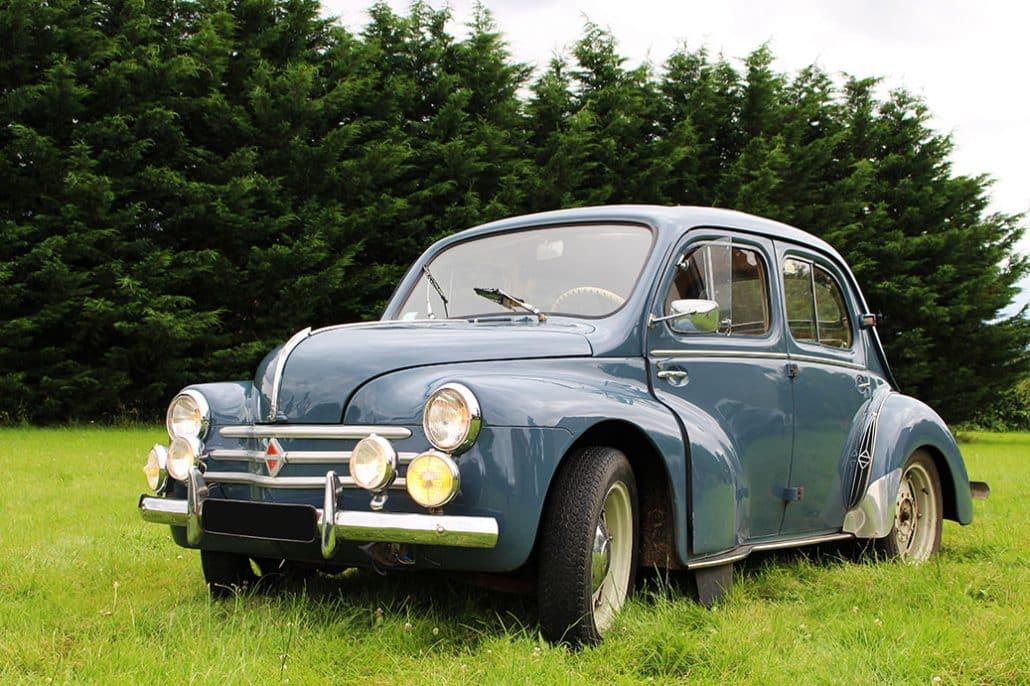 Renault 4CV 1956 vue AV