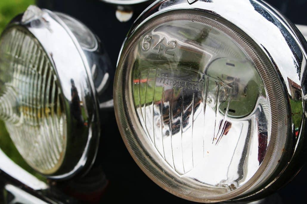 Projecteurs additionnels Renault 4CV 1956