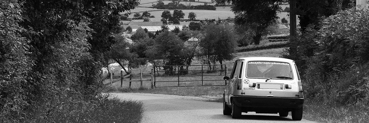 Renault 5 Alpine sur les routes du maconnais