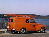 Volvo PV445 PV210 Delivery Van 1953-1960