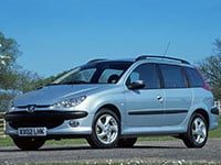 Peugeot 206 break 2002-2008