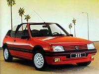 Peugeot 205 cabriolet 1986-1995