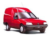 Peugeot 205 fourgonnette 1994-1998