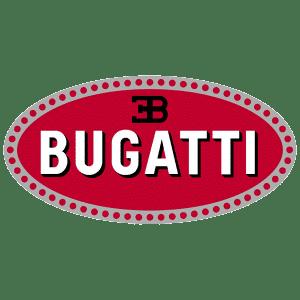 Tous les modèles du constructeur Bugatti