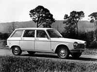 Peugeot 204 break 1965-1976
