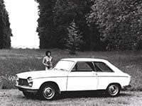 Peugeot 204 coupé 1966-1970