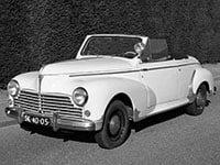 Peugeot 203 cabriolet 1952-1956