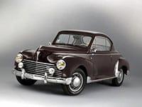 Peugeot 203 coupé 1952-1954