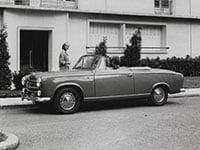 Peugeot 403 cabriolet 1956-1961