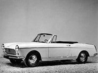 Peugeot 404 cabriolet 1962-1969