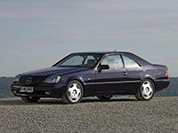 Mercedes-Benz SEC-CL - C140 - 1992-1998