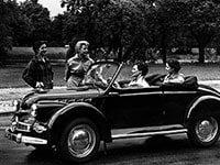 Panhard Dyna X cabriolet 1950-1953