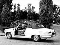 Panhard PL17 cabriolet 1959-1963