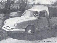 Panhard Dyna Z pick-up 1958-1959