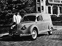 Panhard Dyna X fourgonnette 1948-1954