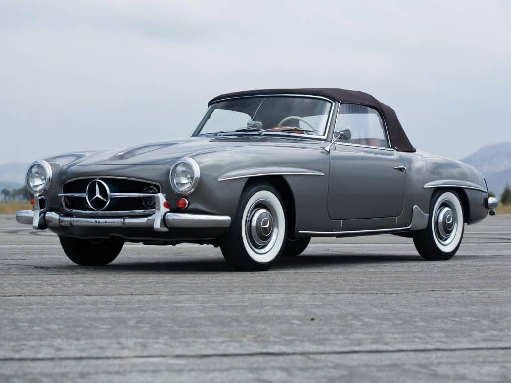 marque de voiture allemande mercedes benz 190 sl auto forever. Black Bedroom Furniture Sets. Home Design Ideas
