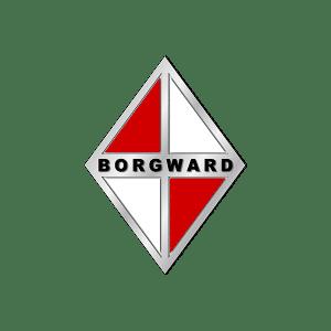 Tous les modèles du constructeur Borgward