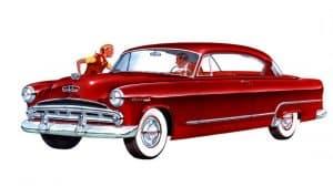 Dodge Coronet Diplomat Hard-Top Coupe 1953 - illustration Chrysler