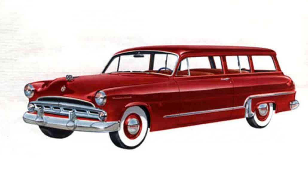 Dodge Meadowbrook Suburban 1953 - illustration Chrysler