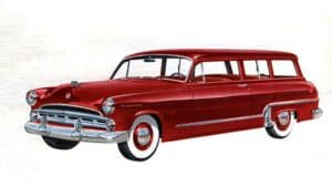 Dodge Meadowbrook Suburban 1953 - illustration Chrysler