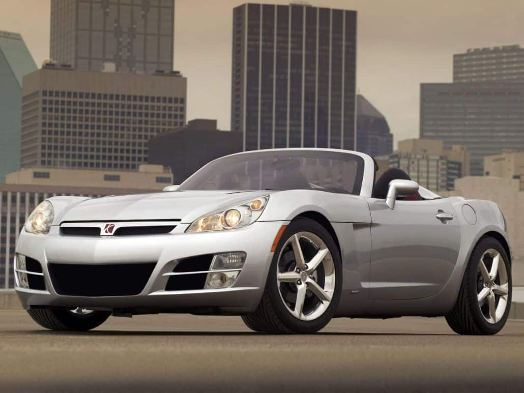 Saturn Sky 2006-2009 vue AV - photo GM