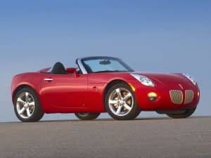 Pontiac Solstice 2005-2009 - photo GM