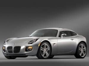 Pontiac Solstice Coupe 2008-2009 vue AV - photo GM