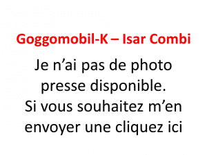 Goggomobil-K-Isar Combi 1959-1965