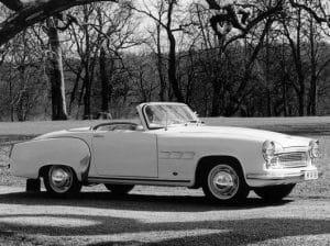 Wartburg 313 cabriolet 1957-1959