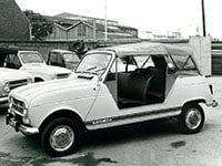 Renault 4 Plein Air 1968-1970