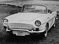 Renault Caravelle cabriolet 1962-1968