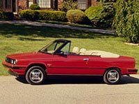 Renault Alliance cabriolet 1985-1987