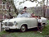 Borgward Isabella cabriolet 1954-1961