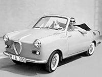 Glas Goggomobil TS cabriolet 1957-1959