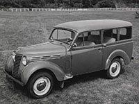 Renault Juvaquatre-Dauphinoise 1946-1960