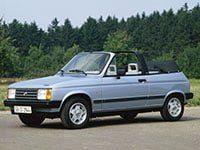 Talbot Samba Cabriolet 1982-1986
