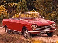 Peugeot 204 cabriolet 1966-1970