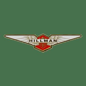 Tous les modèles du constructeur Hillman