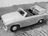 Goliath GP 700 cabriolet 1951-1952