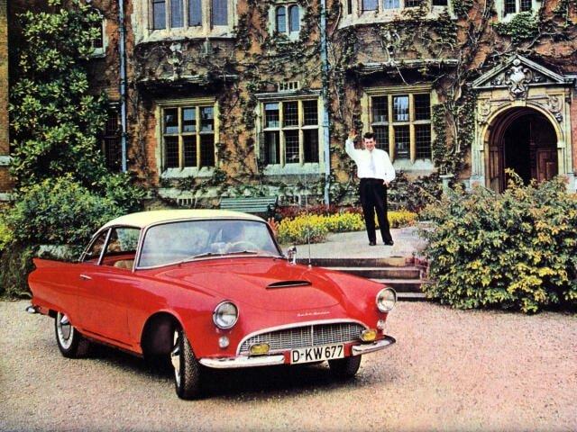 Auto Union 1000 SP coupé 1958-1961 - photo Auto Union