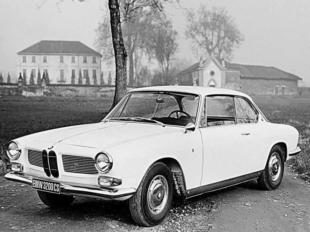 BMW 3200 CS 1962-1965 vue AV - photo BMW
