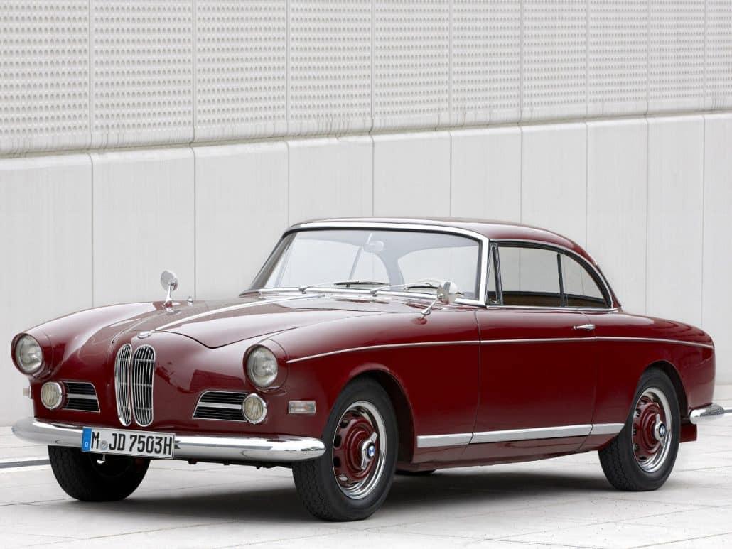 BMW 503 coupé 1957-1959 vue AV - photo BMW Classic