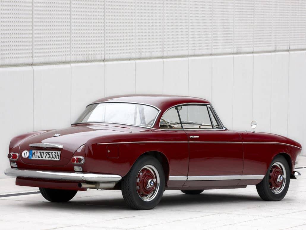 BMW 503 coupé 1957-1959 vue AR - photo BMW Classic