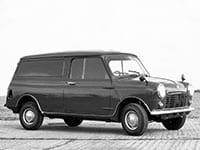 Mini Mini fourgonnette 1960-1982