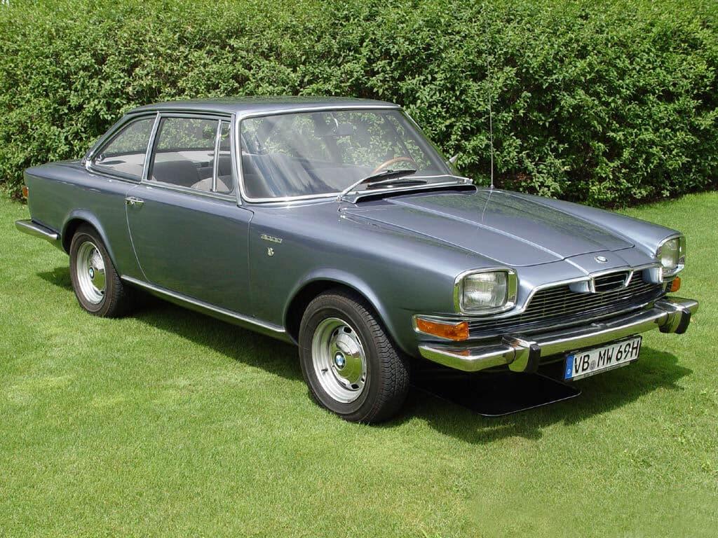 BMW Glas 3000 1967-1968 vue AV - photo : auteur inconnu DR