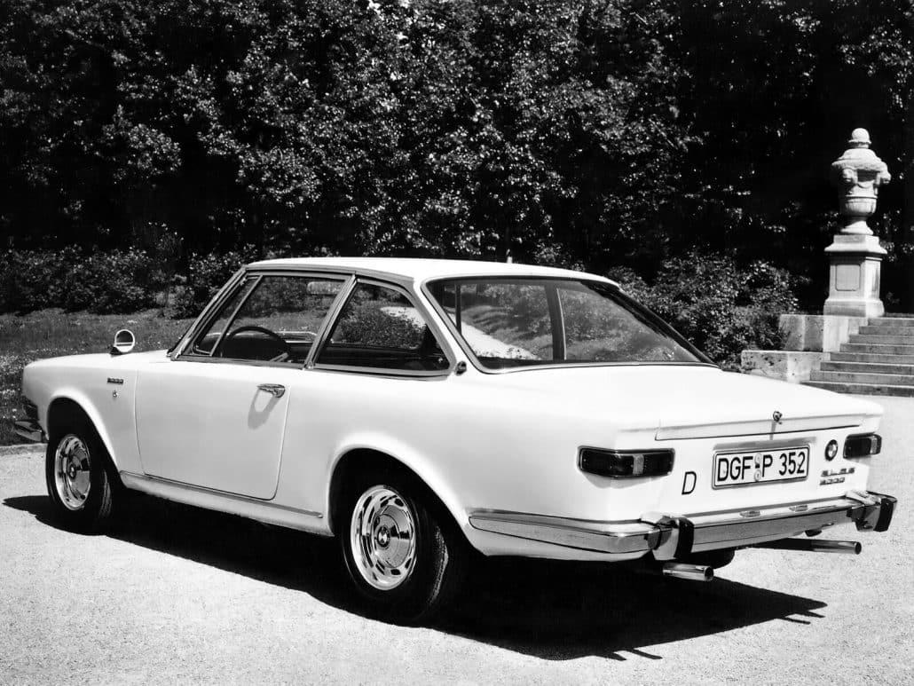 BMW Glas 3000 1967-1968 vue AR - photo BMW