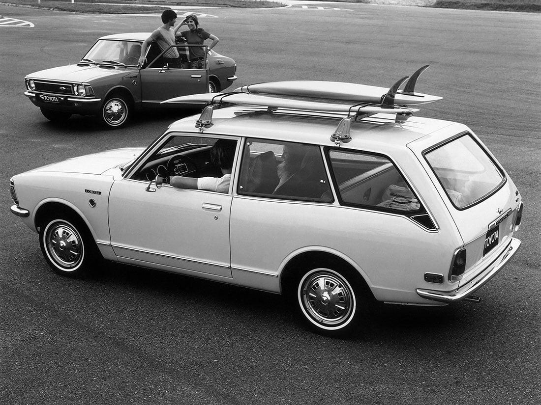 Toyota Corolla E20 1971-1973 USA