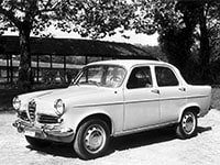 Alfa Romeo Giulietta 1955-1963